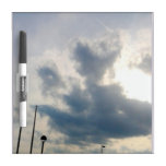 heart in the clouds Dry-Erase whiteboards