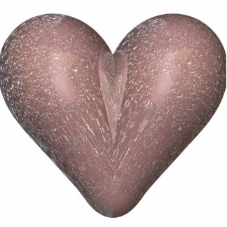 heart in the rain statuette
