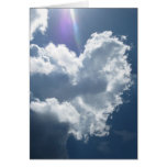 Heart in the Sky (1) Greeting Card