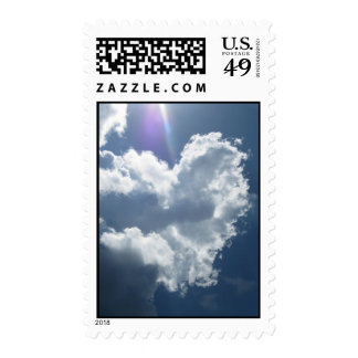 Heart in the Sky (1) Postage Stamps