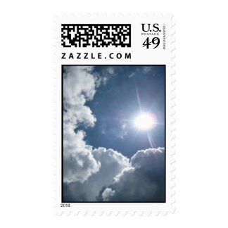 Heart in the Sky (2) Postage Stamps