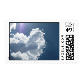 Heart in the Sky (3) Postage Stamps