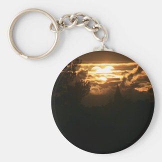 Heart in the Sky Keychain