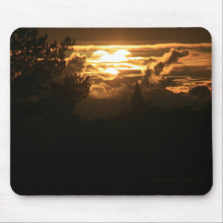 Heart in the Sky Mouse Pad