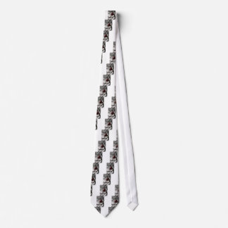 heart in the trees in the sky heart balloon neck tie