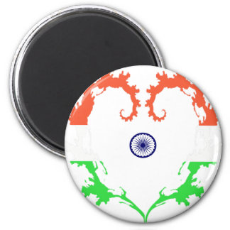 heart-india magnet