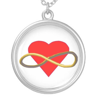 Heart Infinity Necklaces
