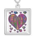 Heart into it pendants