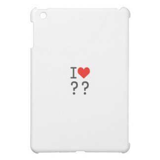 heart iPad mini case