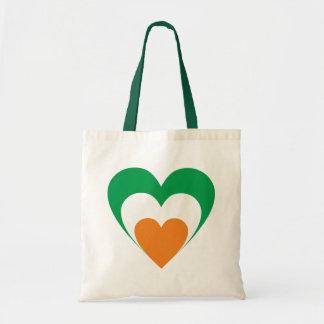 Heart Ireland heart Irish country Tote Bag