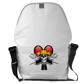 Heart Ironworkers Courier Bag