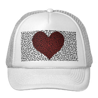 Heart is a Maze Cap Trucker Hat