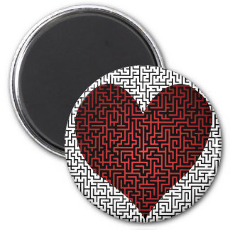 Heart is a Maze Magnet