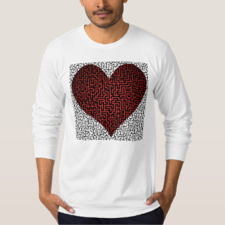 Heart is a Maze Maze One Side Shirt