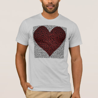 Heart is a Maze Two Sided Maze Shirt
