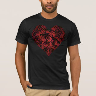 Heart is a Maze Two Sided Shirt
