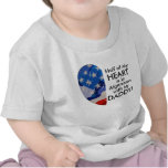 Heart is in Afganistan with my Daddy! Tee Shirt