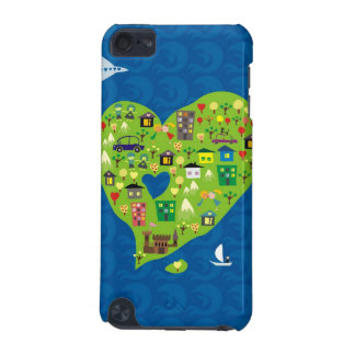 Heart Island iPod Touch (5th Generation) Case