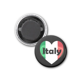 Heart Italy Magnets