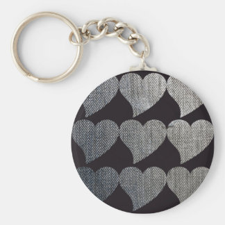 Heart Jeans Keychains
