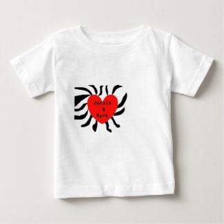 HEART JESSIE AND MARK.png Baby T-Shirt