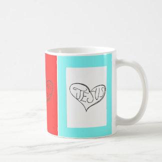 Heart Jesus Coffee Mugs