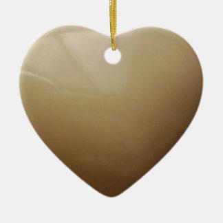 Heart Jewel Box Ceramic Ornament