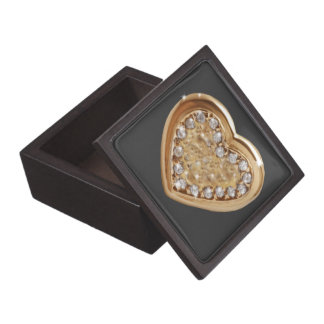 Heart jewel-box gift box