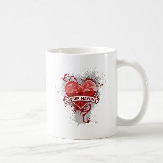 Heart Josef Haydn Mugs