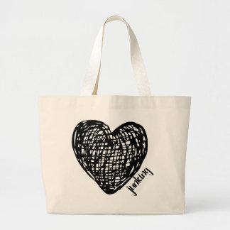 Heart Junking Tote Bag