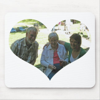Heart Kenny Edna May and Lynn Mouse Pad