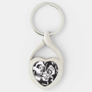 """Heart Kiss"" by Skinderella - Key Chain"
