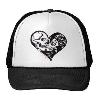 """Heart Kiss"" by Skinderella - Trucker Hat"
