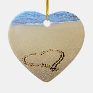 Heart & Kiss Ornament
