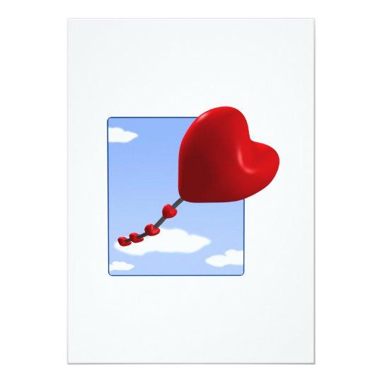 Heart Kite 2 Card