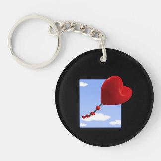 Heart Kite 2 Keychain