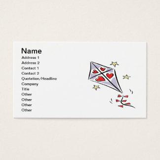 Heart Kite 3 Business Card