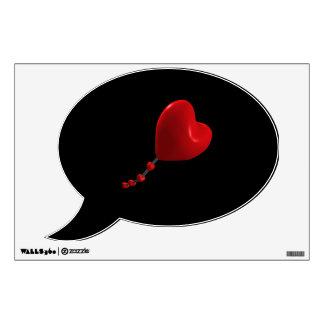 Heart Kite Wall Sticker
