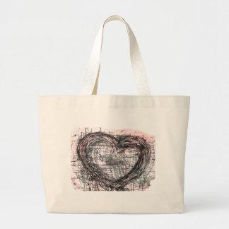 Heart Large Tote Bag