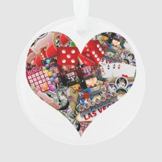 Heart - Las Vegas Playing Card Shape