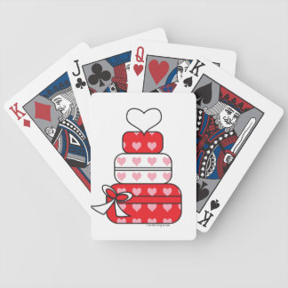 Heart Layer Cake Bicycle Playing Cards