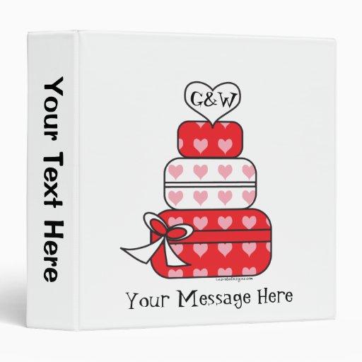 Heart Layer Cake Binders