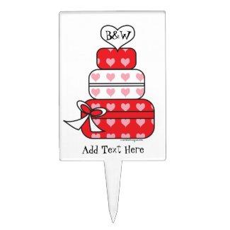 valentines Cake Topper