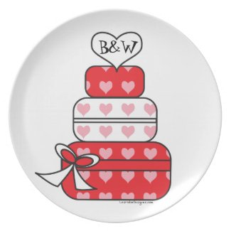 Heart Layer Cake Plate