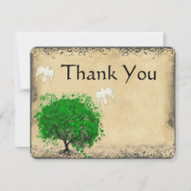 Heart Leaf Emerald Tree Dove Bird Thank You