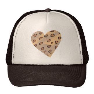 Heart Leopards, Custom Trucker Hats