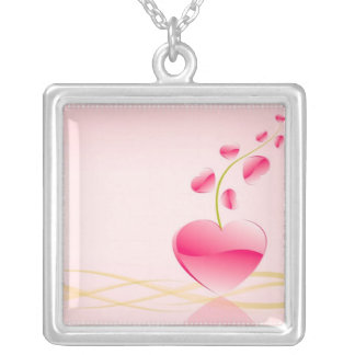 Heart Life Sterling Silver Necklace