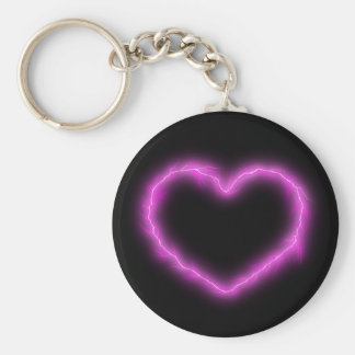 Heart Lightning Keychain