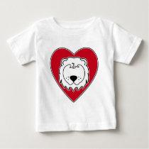Heart Lion Baby T-Shirt
