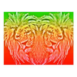 HEART LION RASTA